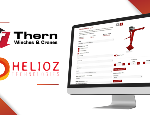 Thern, Inc. implements Helioz zipCPQ for its  Portable Davit Crane Configure, Price, Quote Solution