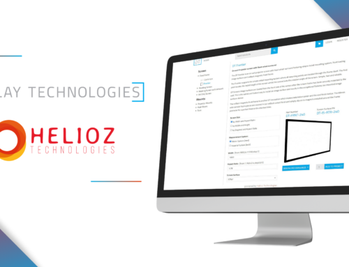 Display Technologies Ltd. implements Helioz zipCPQ for its Projector Screens and Mounts Configure, Price, Quote Solution